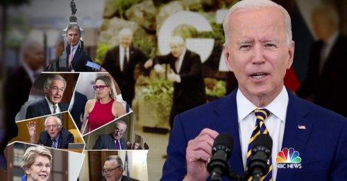 Biden's back in town as infrastructure negotiations heat up