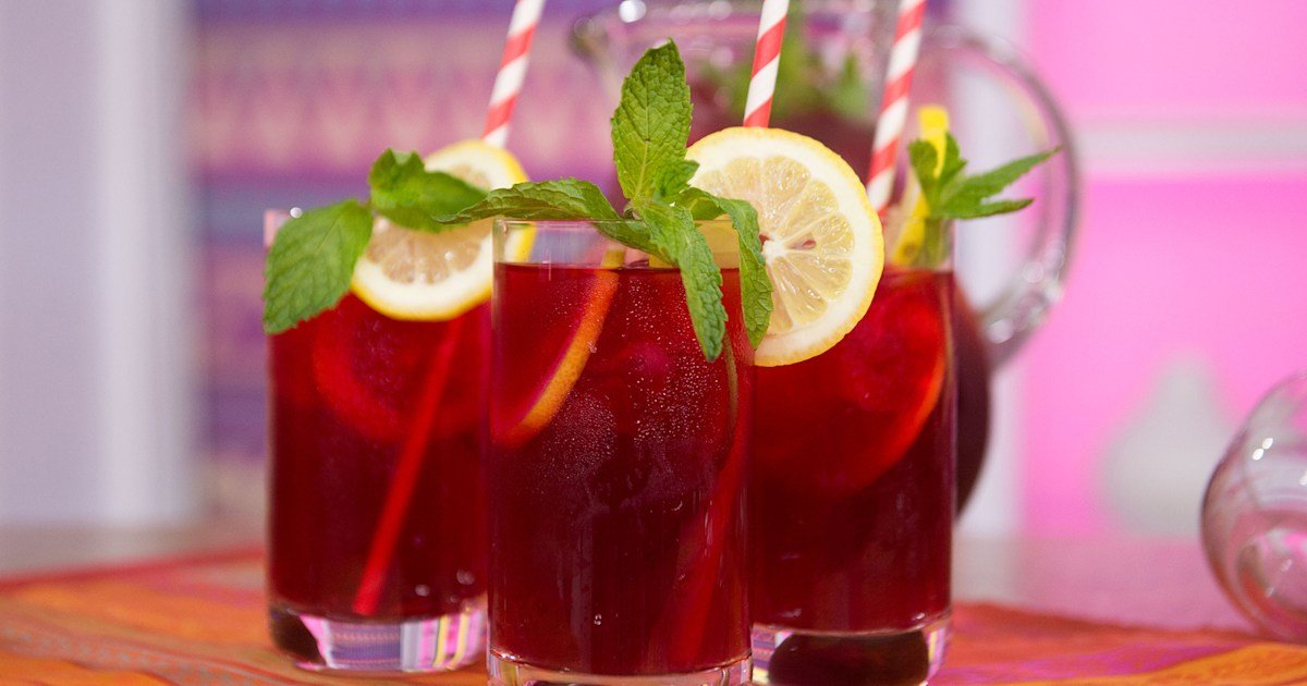 Make a batch of flavorful hibiscus mocktails for Cinco de Mayo