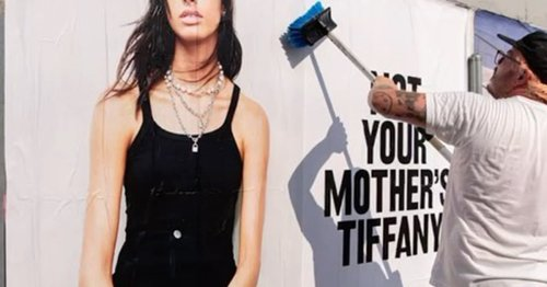 Is Tiffany ditching their iconic blue for a new look? See the bold campaign