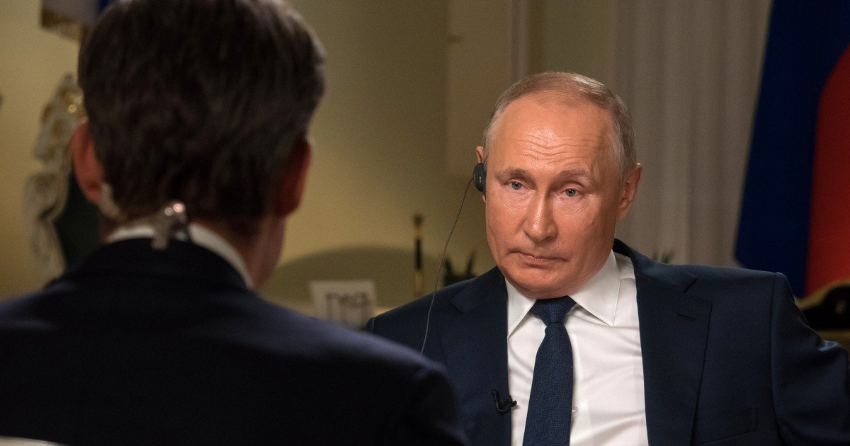 EXCLUSIVE: Putin defends charges of hacking and suppressing dissent by claiming U.S. does same thing