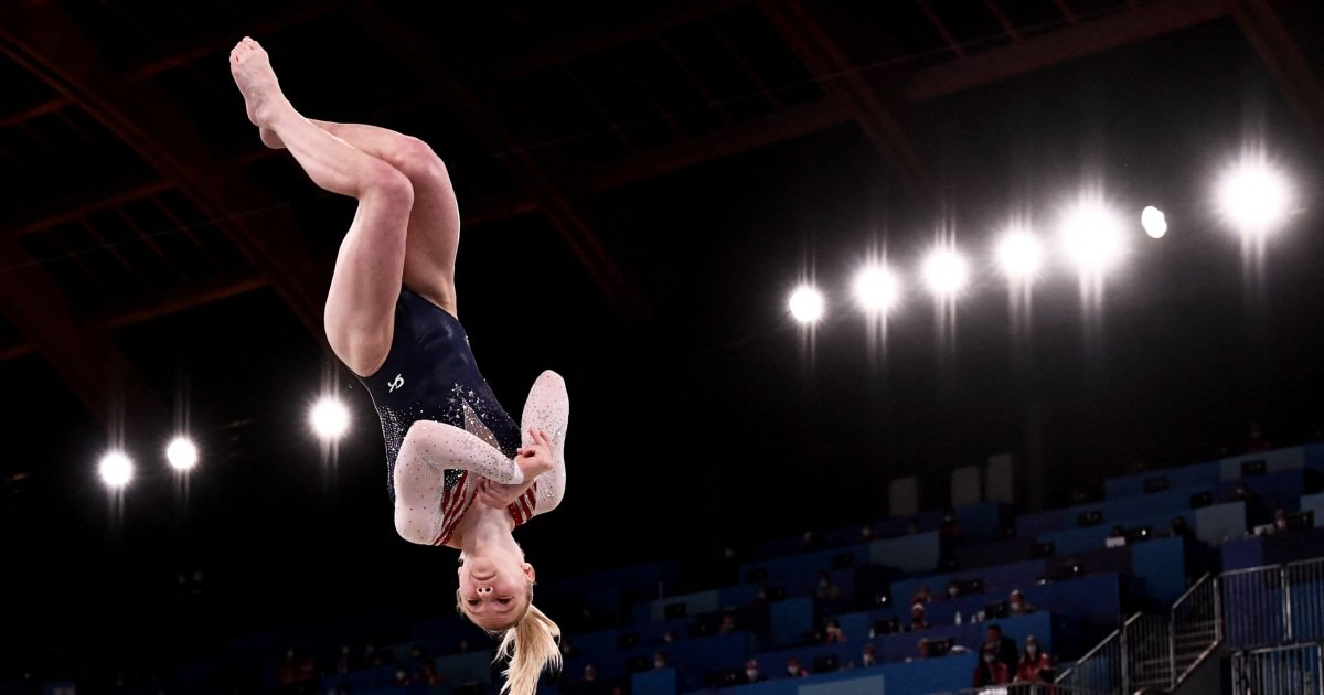 Jade Carey's gold reminds us that we need to teach our sons about women's sports
