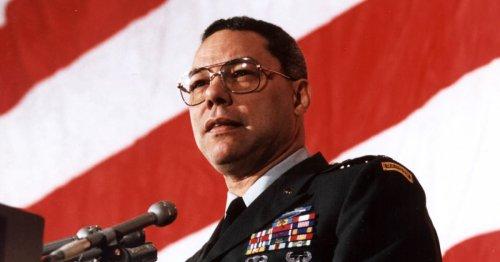 Trump has no idea who Colin Powell really was