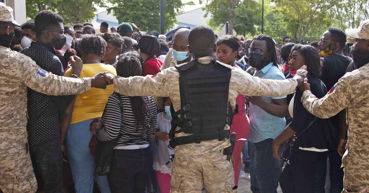 Biden immigration hypocrisy on full display as he tells Haitians fleeing chaos not to come