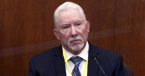 Former officer testifies Derek Chauvin was 'justified' in pinning down George Floyd