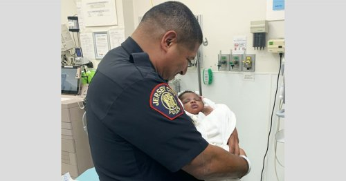 New Jersey officer catches 1-month-old baby thrown from 2nd-floor balcony