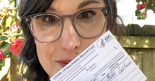 Andi Zeisler I got the Johnson & Johnson vaccine on Monday and took a selfie. Things got weird after that.