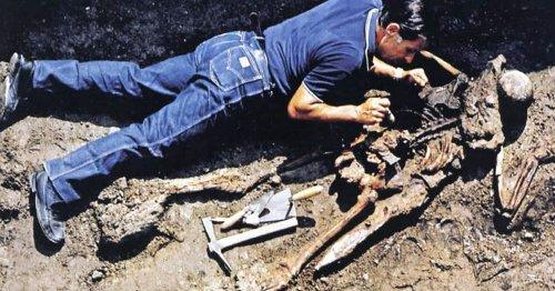 2,000-year-old skeleton identified as senior Roman soldier on Vesuvius rescue mission
