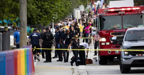 Pride parade crash that killed 1, injured another was 'tragic accident,' police say