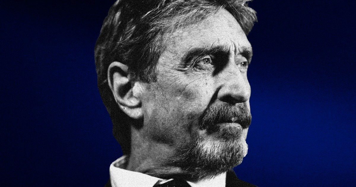 John McAfee was once the face of cybersecurity. Then his life spiraled.