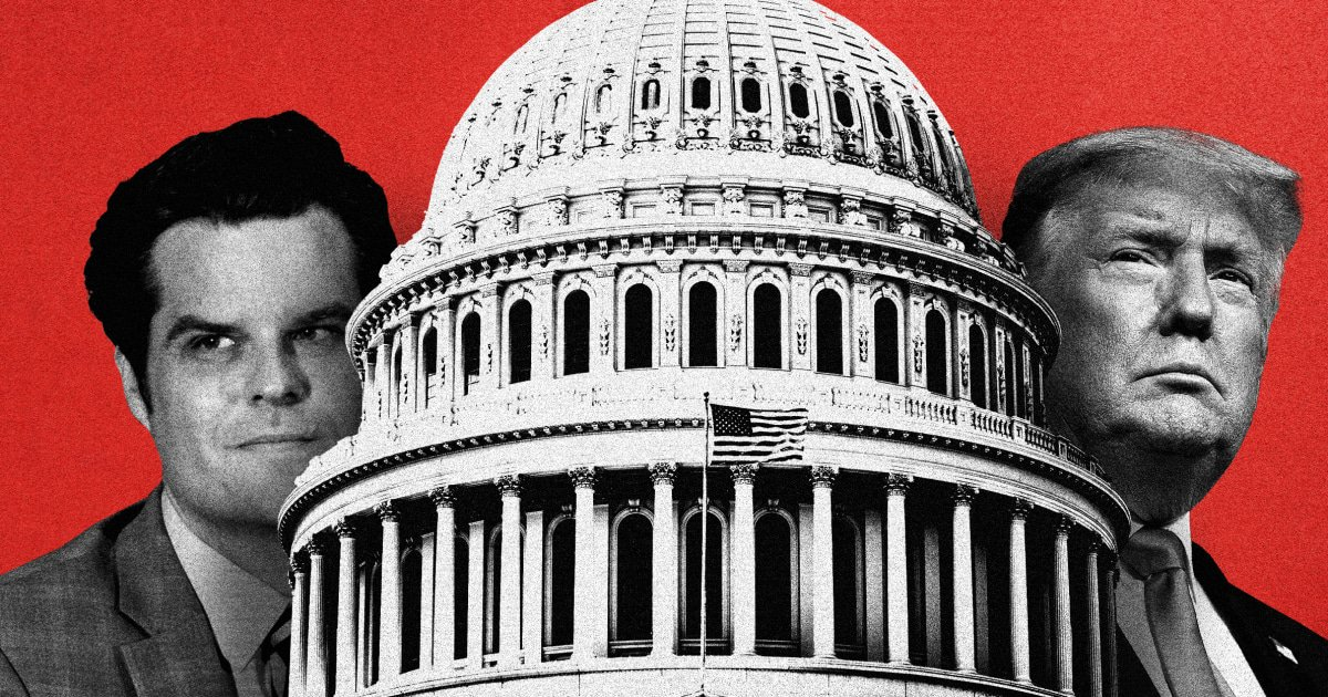 The unlikely (and dystopian) Trump scenario being promoted by Matt Gaetz