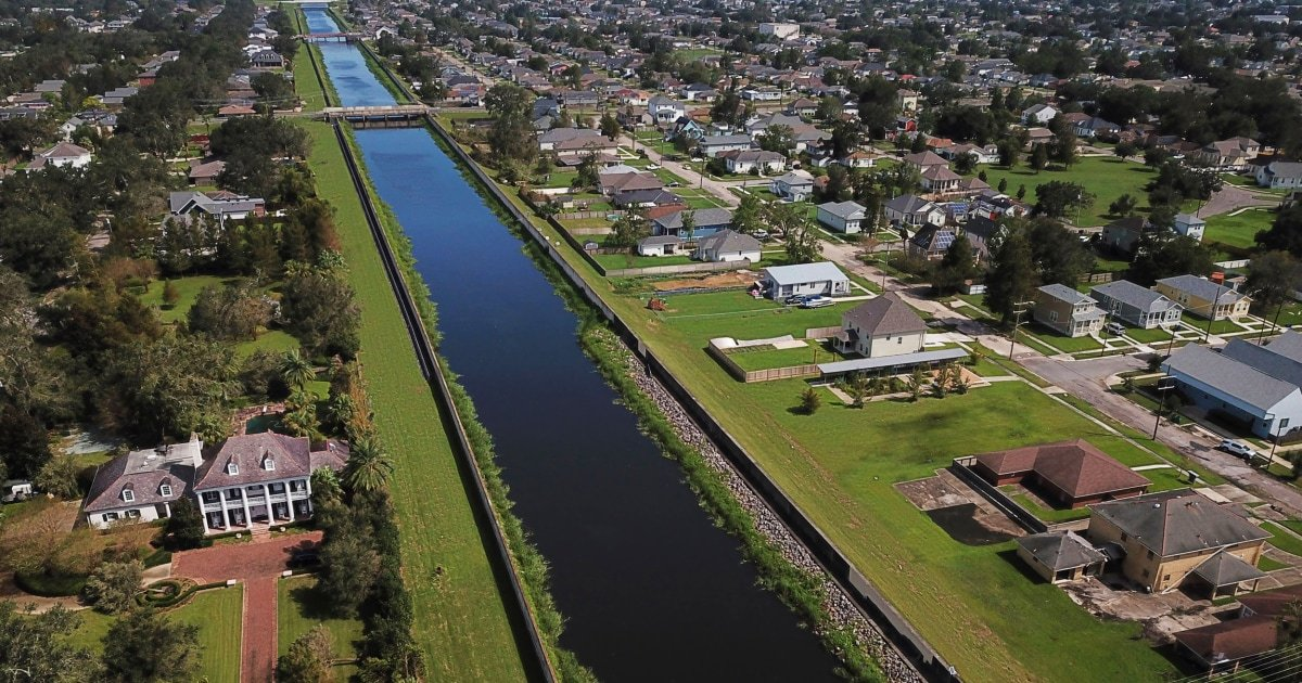New Orleans' $15 billion levee held. But another problem looms, experts say.