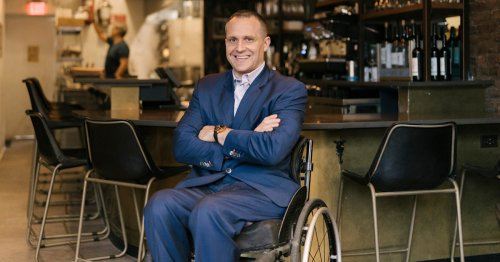Lower bars, accessible menus: This restaurant is designed for people with disabilities