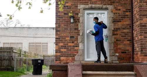 As vaccinations drop, outreach workers hit the streets to change minds