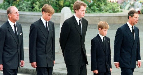 Why Prince Philip walked with William and Harry at Princess Diana's funeral