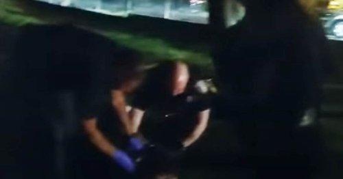 Rhode Island man handcuffed by police dies