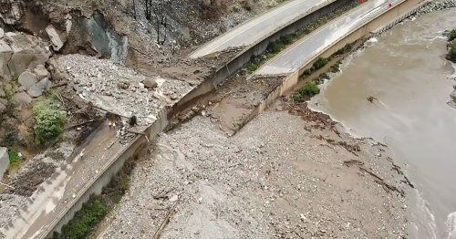 Mudslide on scenic Colorado highway tests limits of aging infrastructure in era of climate change