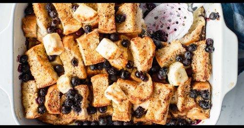 Celebrate Sundays with indulgent and easy French toast casserole