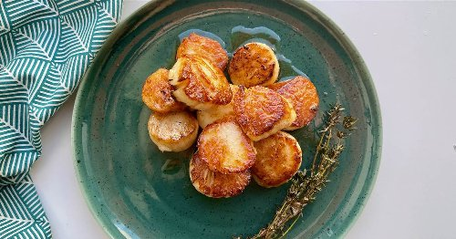 How to cook scallops to get that perfect golden sear