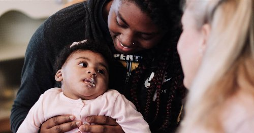 United by love: Adoptive mom, biological mom of baby with brain injury co-parent