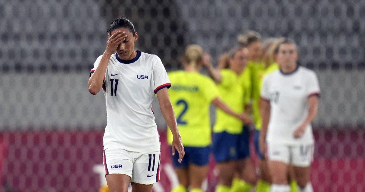 U.S. women's soccer team falls to Sweden in Olympic opener