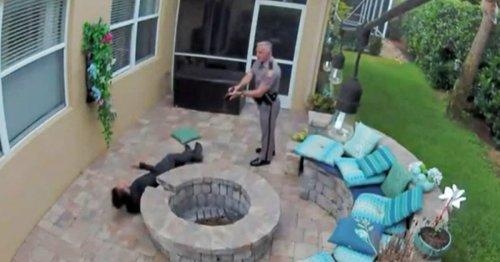 Video shows Florida trooper using stun gun on teen outside girlfriend's home