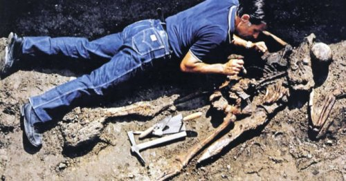 2,000-year-old skeleton identified as senior Roman soldier on Vesuvius rescue mission