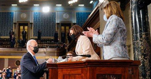 Biden acknowledges historic nature of Vice President Harris and Speaker Pelosi