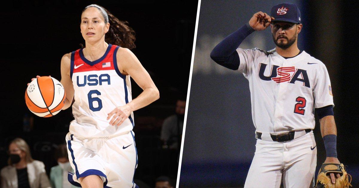 Sue Bird and Eddy Alvarez chosen as Team USA flag bearers for Tokyo Olympics