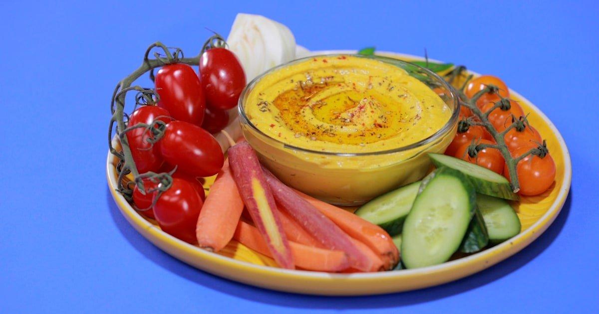 Spice up homemade hummus with cumin, paprika, za'atar and turmeric