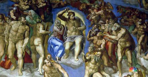 Sistine Chapel ceiling on view in the U.S. in new exhibition