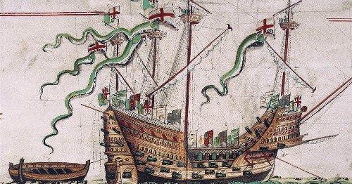 Shipwreck reveals surprising racial diversity of Henry VIII's England