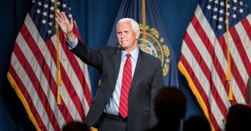 Pence heckled at conservative event with shouts of 'traitor'