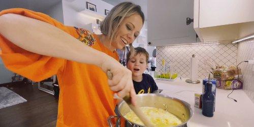 Dylan Dreyer uses ramen noodles in her homemade chicken soup