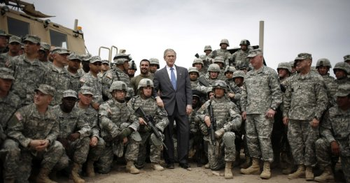 Afghanistan war neocons like George W. Bush would like you to know this isn't their fault