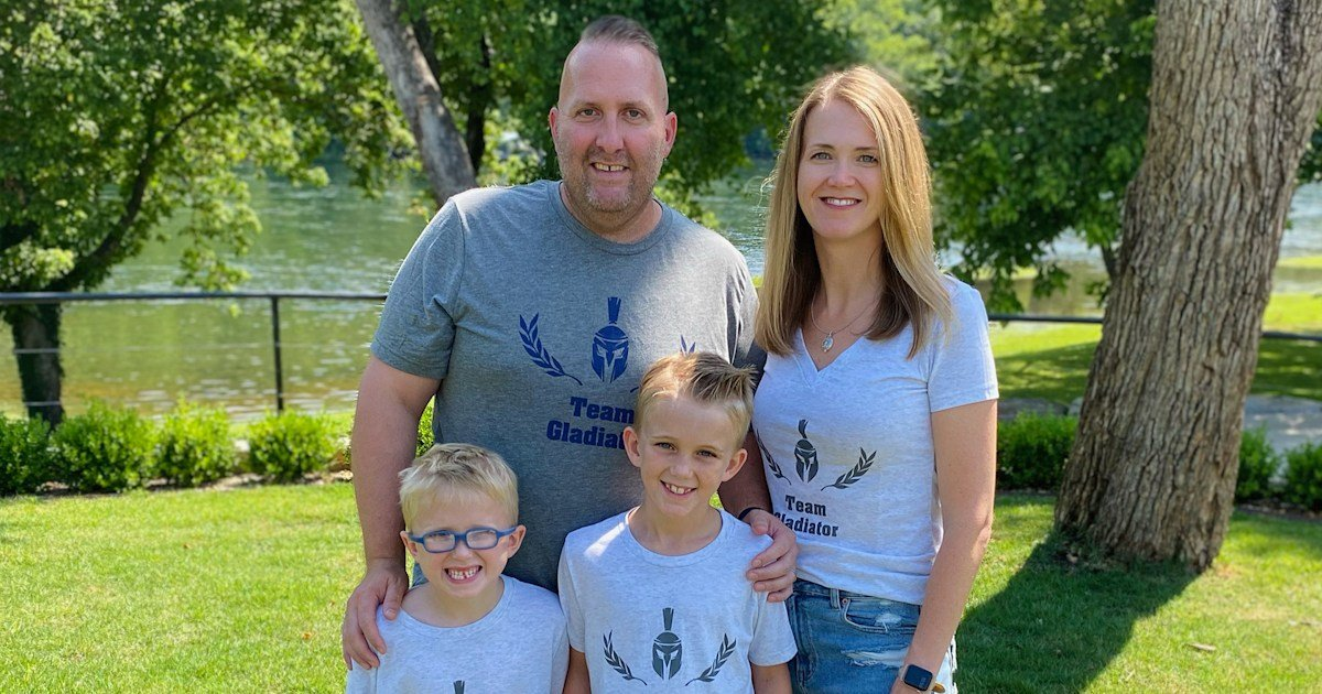 This 43-year-old dad was perfectly healthy. Then a mysterious headache struck