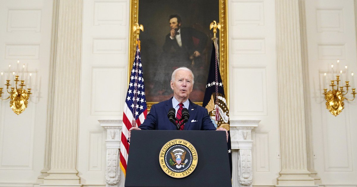 Border challenge takes center stage at Biden's first formal news conference