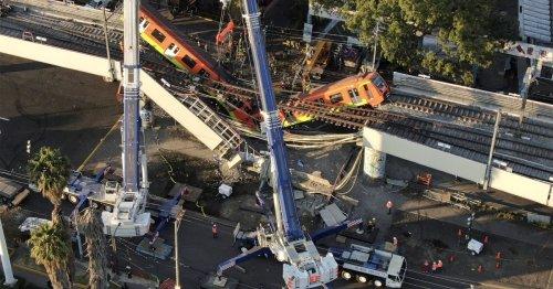 Preliminary report blames construction errors for deadly Mexico City metro collapse