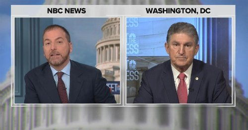 Manchin: 'I'm not going to change my mind on the filibuster'