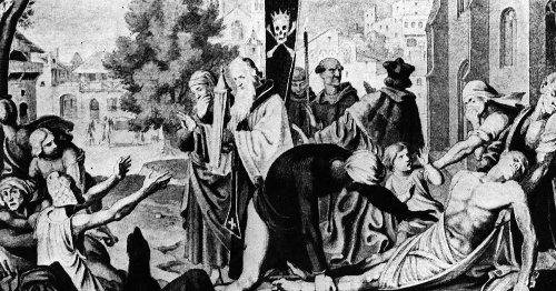 COVID-19's death and suffering could lead us to rebirth, as the bubonic plague did in Europe