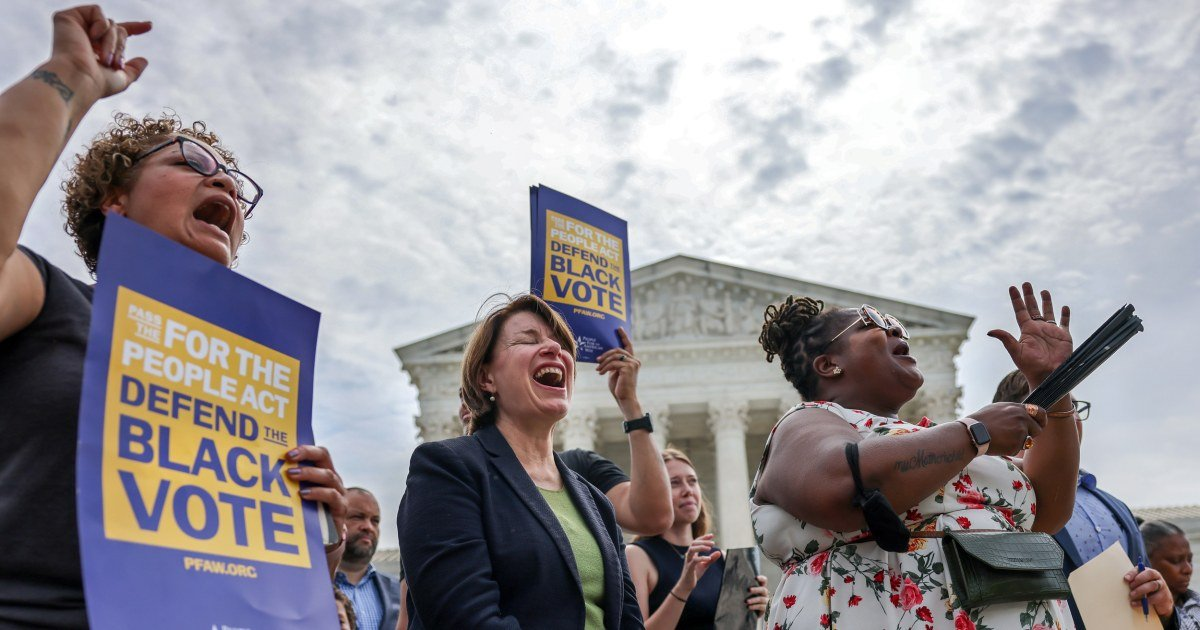 Senate to vote Tuesday on Democrats' big voting bill. GOP promises a filibuster. - cover