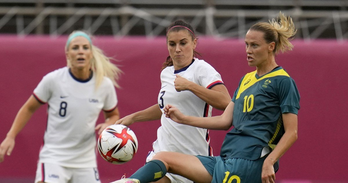 USWNT ties with Australia, advances to soccer knockouts