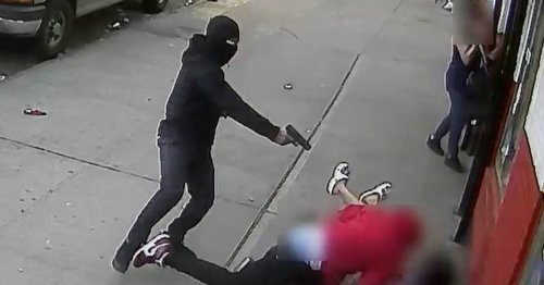 Video shows gunman shoot man next to two children in the Bronx