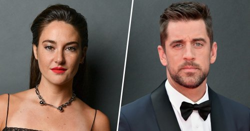 Aaron Rodgers and Shailene Woodley have a blast on beach vacation in new pics