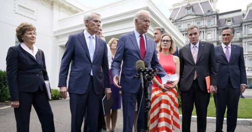 'We have a deal': Biden announces bipartisan infrastructure agreement