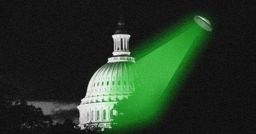 The rumors are true. UFOs are invading Washington.
