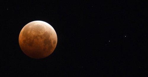 WATCH: Videos show rare lunar event known as 'super flower blood moon'