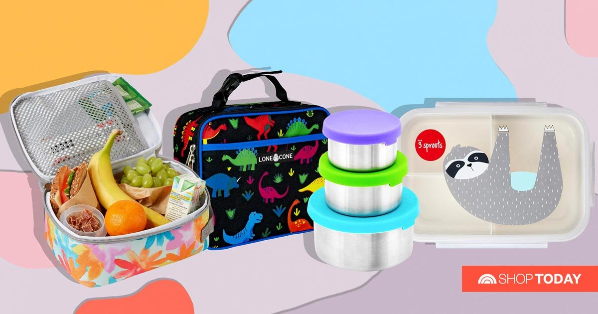 20 adorable, durable lunchboxes to add to your back-to-school list