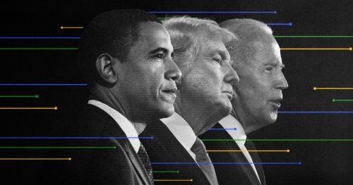 By the numbers: How do 100 days of Biden and Trump (and Obama) compare?