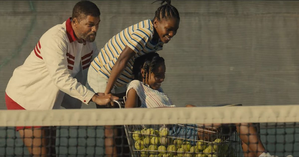Will Smith plays determined father of Venus and Serena Williams in new trailer