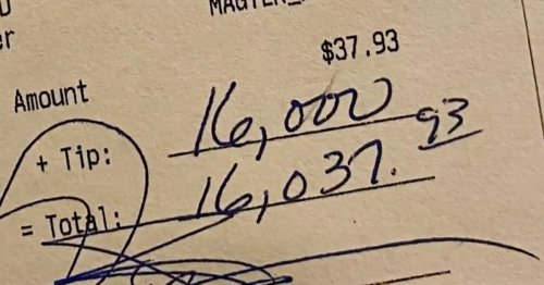 Customer leaves $16,000 tip at New Hampshire restaurant
